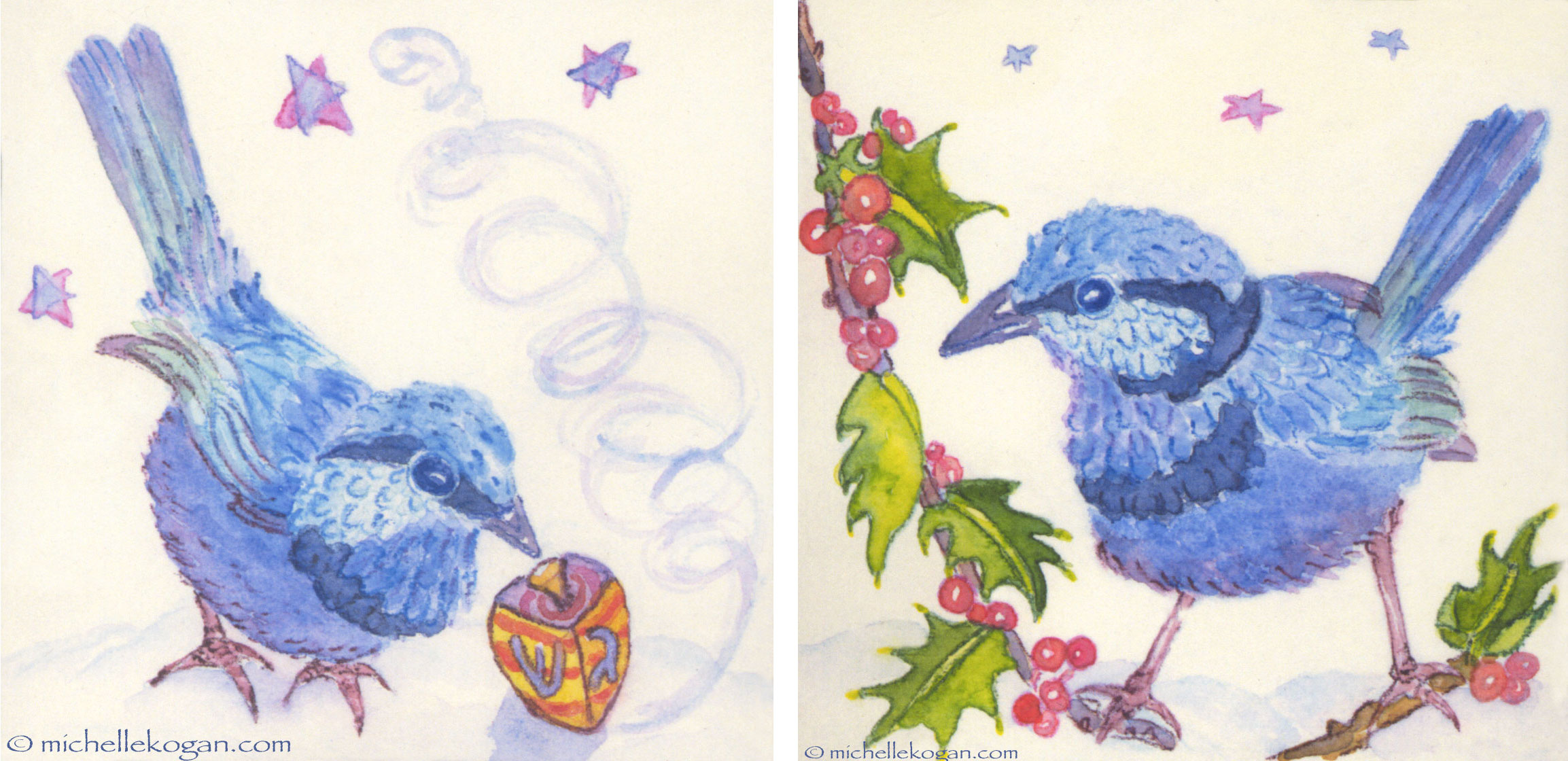 Bluebird-&-dreidel-Holly--12-01-2014-copy