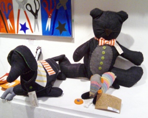 EAC Art Expo Installation Howie Stripped Dogie