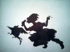 Kara Walker Linocut on paper
