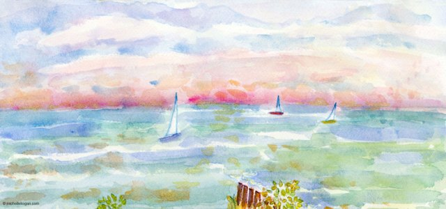 Michelle Kogan-3-Sailboats-