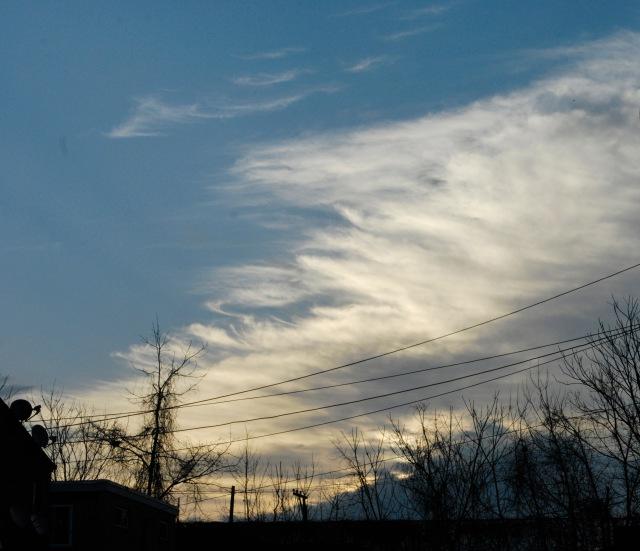 Michelle Kogan cloud swept sky
