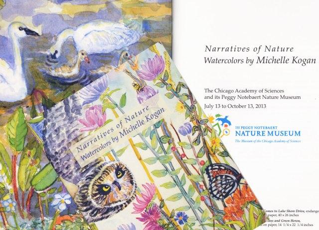 Art  Catalogue:  Narratives of Nature Watercolors by Michelle Kogan