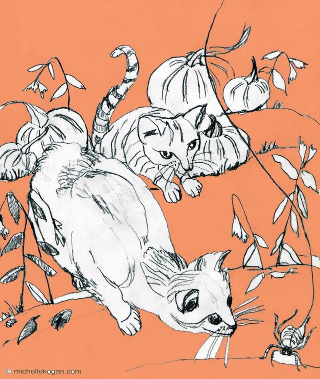 mkogan-Cats-and-Spider…pumkin-sky