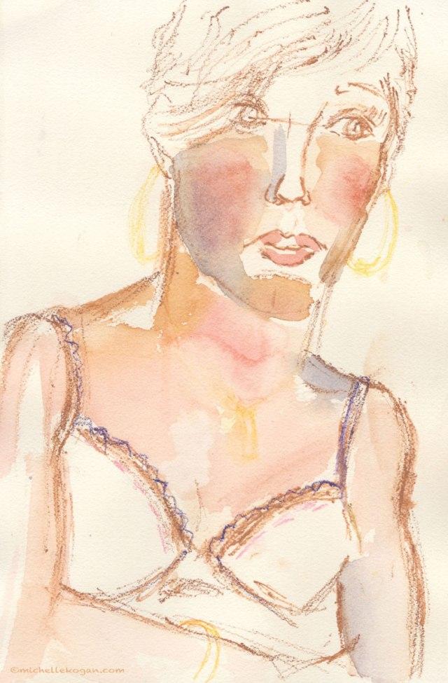 ©-M-KoganWoman-Figure-Study-Watercolor-1-2013-FB