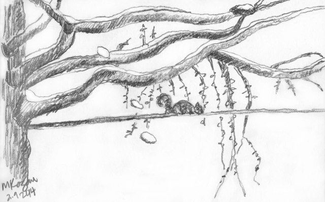 ©-mkogan-Flocked-branches-sketch-2-09-2014
