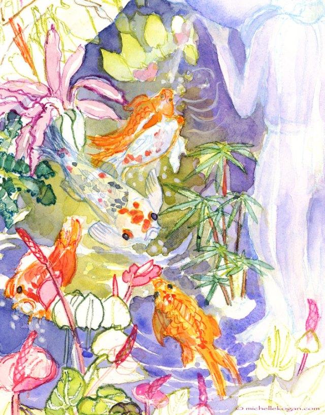 © M KoOgan Koi-Pond-1-Lincoln-Pk-Conservatory-WIP-Detail-KOi5-2014-©-mkogan-copy