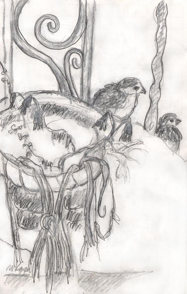 M-Kogan--Sparrow-snow © 2-20-2015