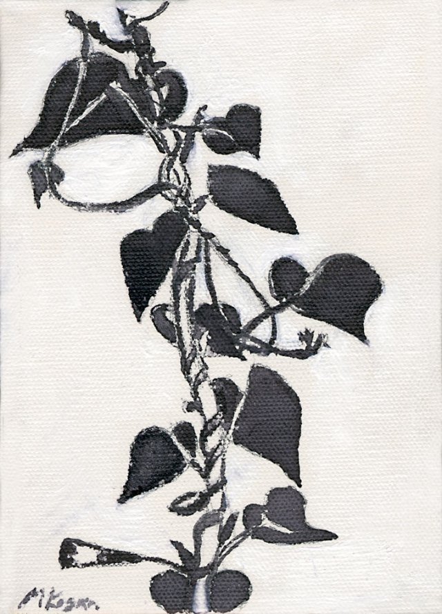 Meditating-fall-morning-glories-inktober-10-4-2015-©-mkogan-8-14-2015
