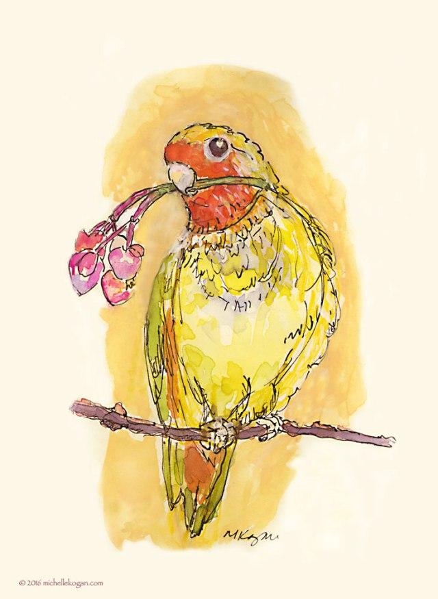 1a.-Valentine-Lovebird-©-Michelle-Kogan-2-14-2016
