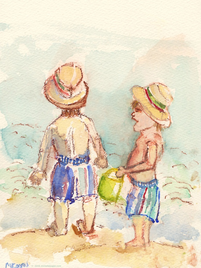 1a.Watercolor-sketching-at-the-Beach-7--11-2016 copy