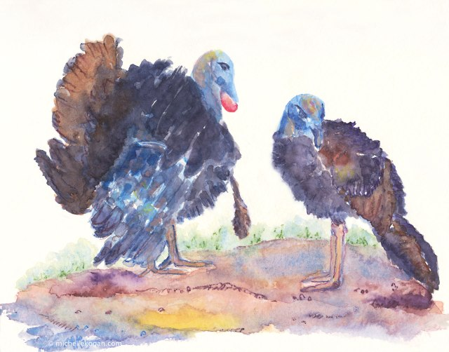 2..Two-WIld-Turkeys--M-Kogan-Archival-Print-8.5x-11-Advtg-print-etsy-8-16-2016-