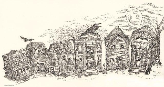 1-haunted-house-inktober-m-kogan10-09-2016