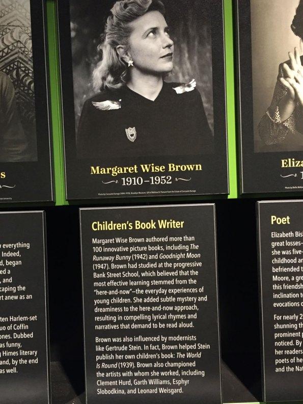 4--Margaret-Wise-Brown-Amer-Writers-Museum-6-2017