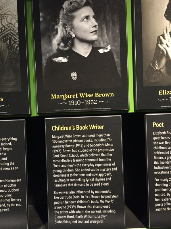 4--Margaret-Wise-Brown-Amer-Writers-Museum-6-2017