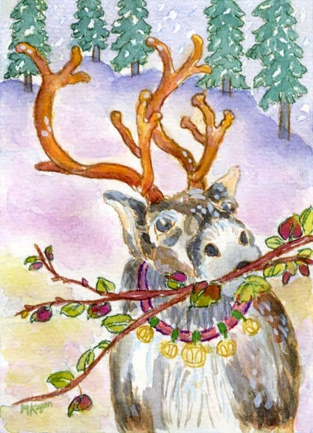 Michelle Kogan Reindeer-