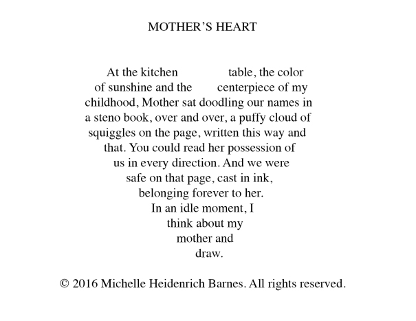 1- Mother's Heart - Michelle Heidenrich Barnes concrete poem-5-10-2018Untitled-2