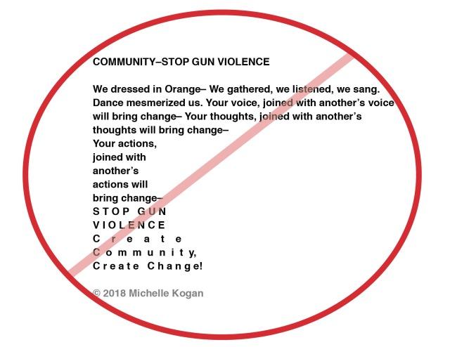 1-Community–Stop Gun Violence-poem-m kogan- 6-5-2018