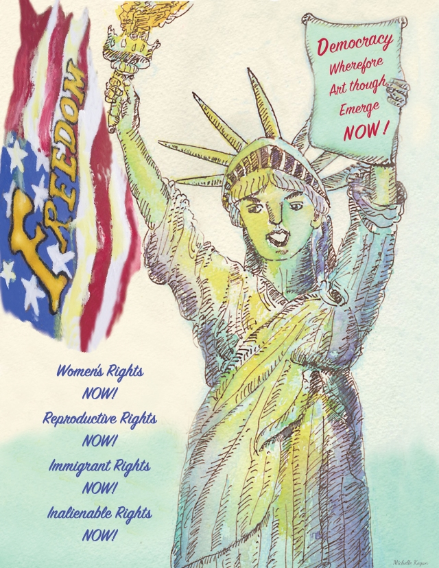 Lady Liberty Democracy - michelle kogan-2018-10-28-2018indd