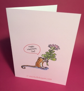1a- mouse and flower valentine card front 1-12-2019 copy