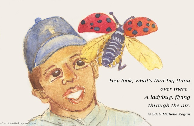 1-looking for milkweed seeds--4-15-ladybug-c-2019