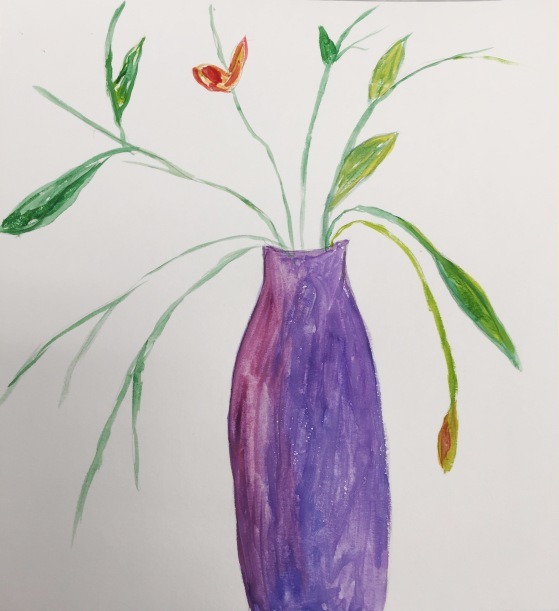 1- Marguerite Mullen-vase stilllife art poetry workshop 7-6-2019