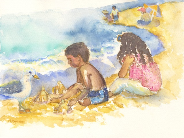 Indiana Dunes Painting 9-12-2019