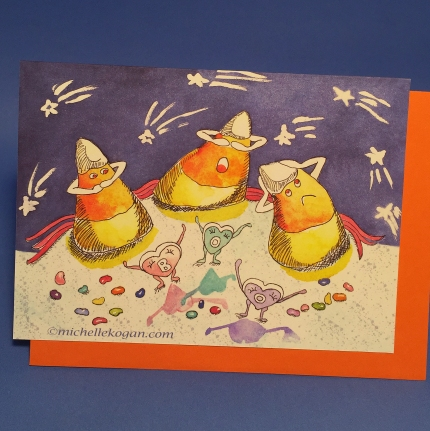 1- candy corn card 10-2019