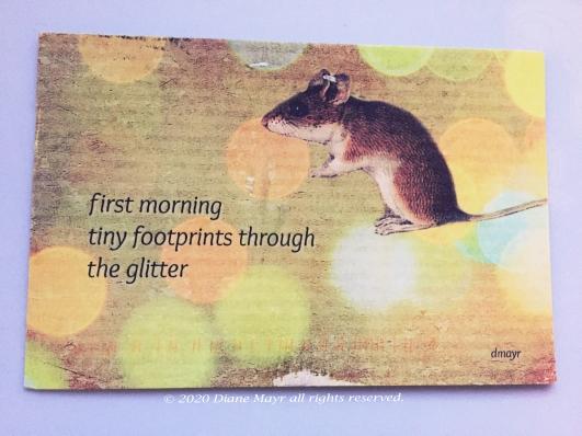 1-Diane Mayr haiku postcard 1-2020