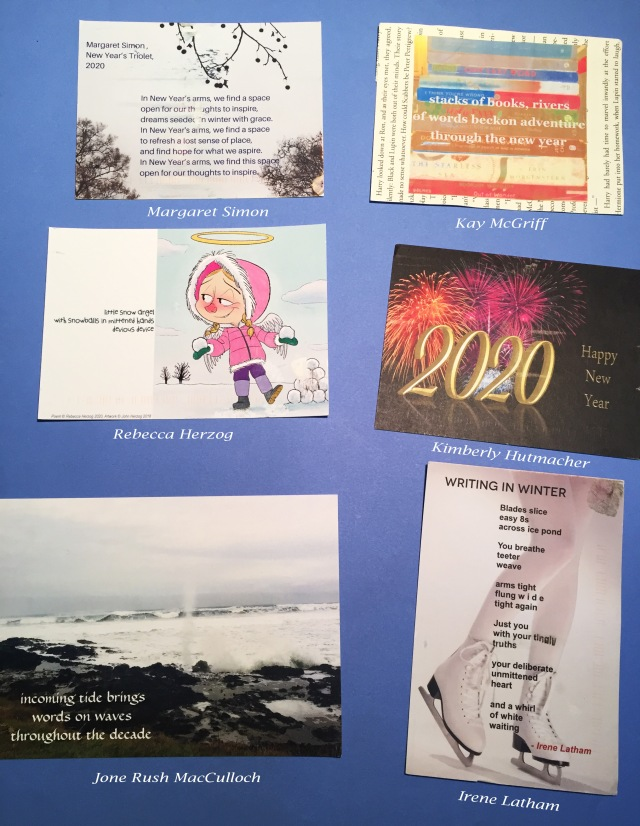 1- winter 2020 poetry postcard swap