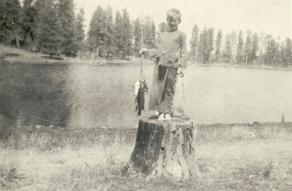 1-David HArrison 6 years old fishing