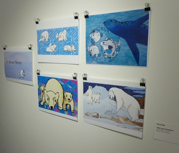 1- Student exhibit PB-Bonnie polar bear 2-20-20