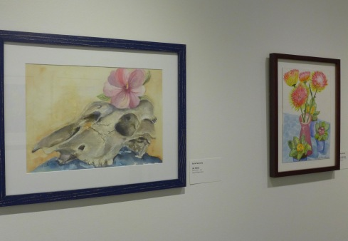 1- STudent exhibit watercolor susie nany 2-20-20