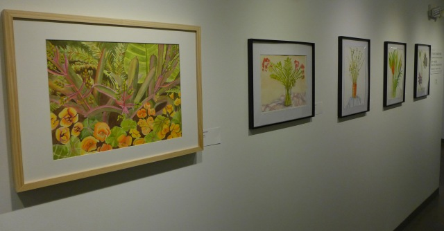 1- student exhibit watercolors bill madeleine laura 2-20-20