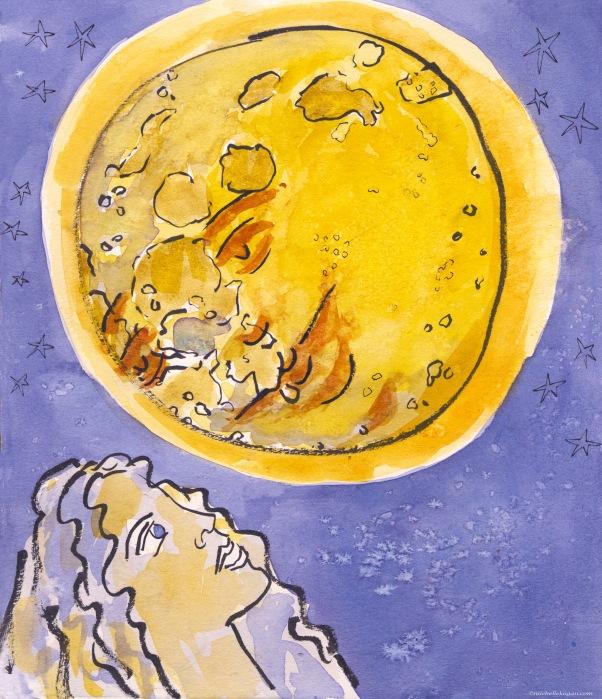 Dear moon-M Kogan-5-14-2020